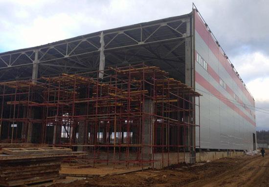 Строительство складского комплекса класса А